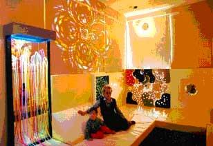 шторы для сенсорной комнаты